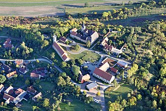 Freyburg, Germany - Zscheiplitz view