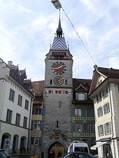 Zytturm, Zug 13th-century tower in Zug, Switzerland,