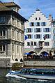 Zunfthaus zur Haue - Limmat - Wühre 2013-04-15 13-55-48.JPG