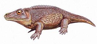 Zygosaurus - Life restoration of Zygosaurus