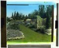 """Beacon Hill House,"" Arthur Curtiss James house, Beacon Hill Road, Newport, Rhode Island. Blue Garden, flower border LCCN2008675639.tif"