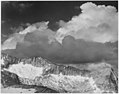 """Clouds - White Pass, Kings River Canyon (Proposed as a national park),"" California, 1936., ca. 1936 - NARA - 519938.jpg"