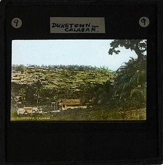 "Akwa Akpa - ""Duketown Calabar"", late 19th century"