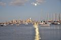 """Moonlight"" - Melbourne CBD as seen from Williamstown (5399921503).jpg"