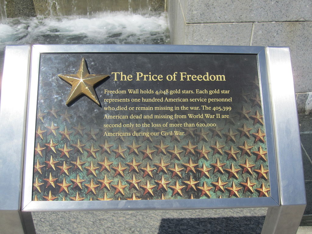 "Price Of Freedom >> File:""The Price of Freedom"", Wash., D.C. IMG 4651.JPG - Wikipedia"