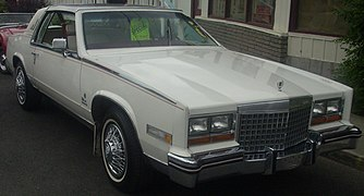 Download Red 1986 Cadillac Eldorado