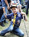 'Wolves and Tigers and Bears – Oh My!' – Scouts conduct mass 'promotion' at local camp 140603-A-XX000-005.jpg
