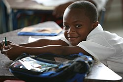 (2011 Education for All Global Monitoring Report) - A schoolboy in Florida (Valle), in Colombia.jpg