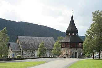Åre Old Church - Image: Åre Old Church ENE