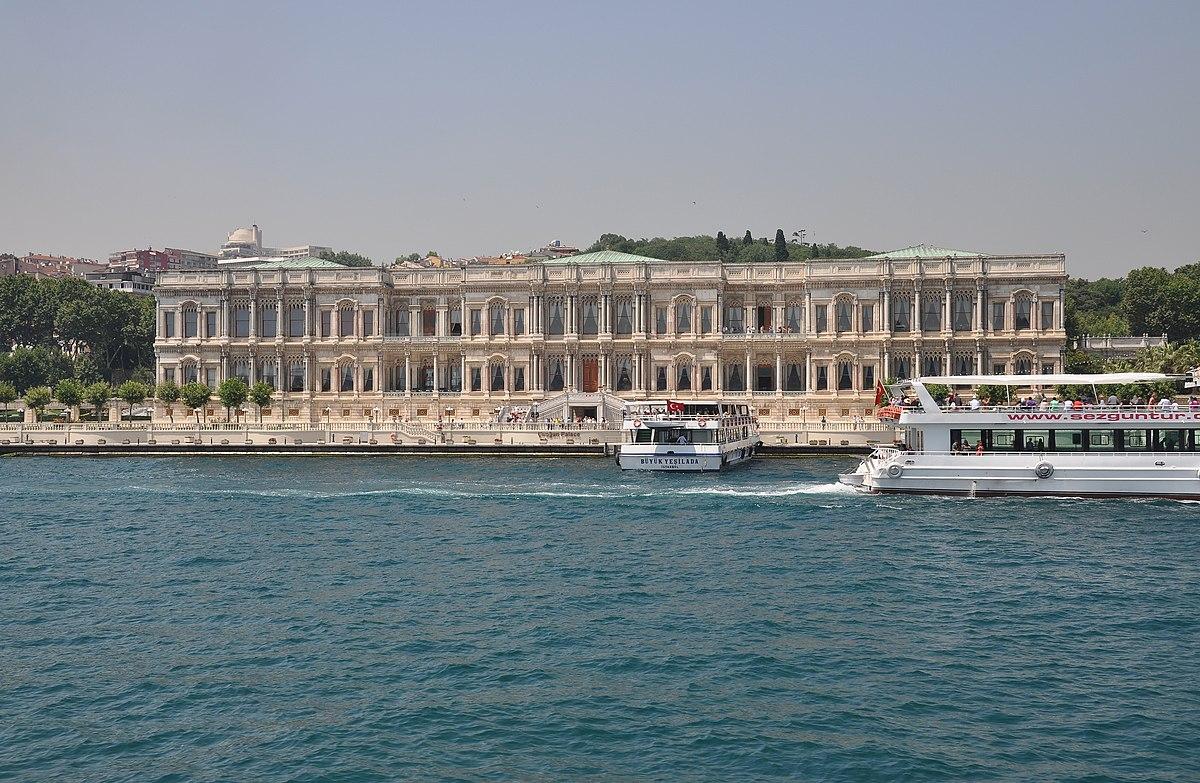 File:Çırağan Palace from the Bosphorus, Istanbul, Turkey ...