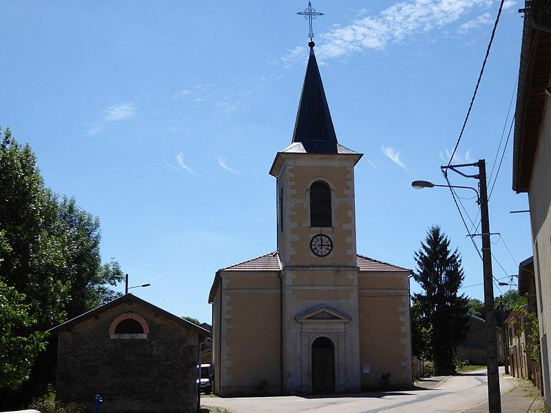 Église de Gémonville en Meurthe-et-Moselle