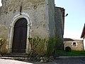 Église Saint-André de Lahitte - Base clocher.jpg