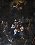 Église Saint-Félix de Saint-Félix-Lauragais - Interior - La nativité de la Vierge par Artigue.jpg