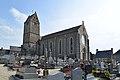Église Saint-Laurent de Saint-Laurent-de-Cuves. Vue nord-ouest.jpg