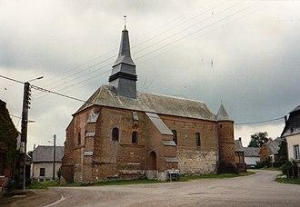 Archon, Aisne - The Church of Saint Martin in 1991