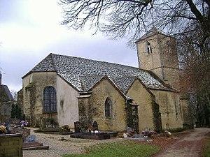 Frontenay - Image: Église Sainte Madeleine de Frontenay