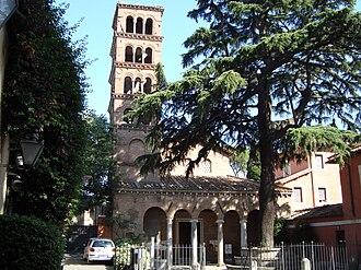 San Giovanni a Porta Latina - Image: Église San Giovanni a Porta Latina 2