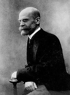 Émile Durkheim French sociologist