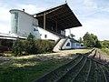 Építők Sport Club stadium, grandstand, People's Park, 2016 Kőbánya.jpg