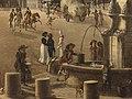 Étienne Bouhot - La place et la fontaine du Châtelet - P1286 - musée Carnavalet - 10.jpg