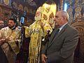Συνάντηση Υφυπουργού Εξωτερικών, Τ. Κουίκ, με τον Πατριάρχη Αλεξανδρείας και τους Έλληνες Αιγυπτιώτες της Αθήνας (31235796265).jpg