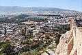Афины Вид на храм Зевса и район Плаки с Акрополя.jpg