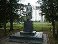 Братская могила в бывшей деревне Александровке. Памятник с основанием.jpg
