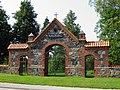 Ворота кладбища, Виесите (le portail de la cimetière) - panoramio.jpg