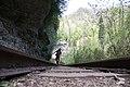 Железная дорога в Гуамском ущелье, Западный Кавказ.jpg