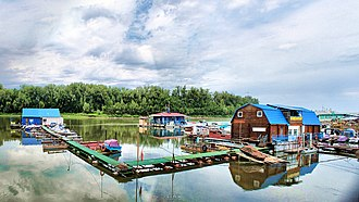 Volgograd - Volga river in Volgograd