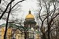 Купол Исаакиевский собора (вид с Александровского сада) - panoramio.jpg
