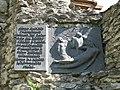 Меморіальна табличка на башті Летичівського замку.jpg