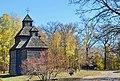 Пирогово...Церква з села Кисоричі. Осінь.jpg