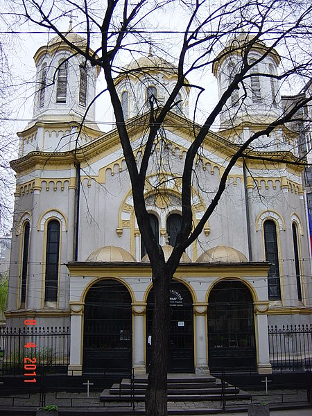 Файл:София April 2011 София April 2011 The Romanian Church of the Holy Trinity - panoramio.jpg