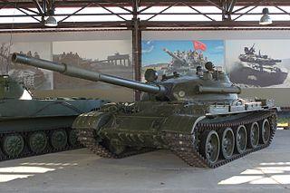 T-62 1961 Soviet medium tank