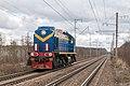 ТЭМ2-4015, Россия, Ленинградская область, перегон Павлово-на-Неве - Манушкино (Trainpix 161117).jpg