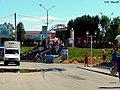 Уваход у цэнтральны рынак з боку вуліцы Савецкай ... Entrance to the central market on the side Sovietskaya street - panoramio.jpg