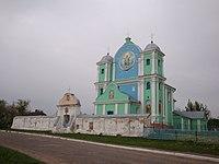Церква Успіння Пресвятої Богородиці в селі Радехів.jpg