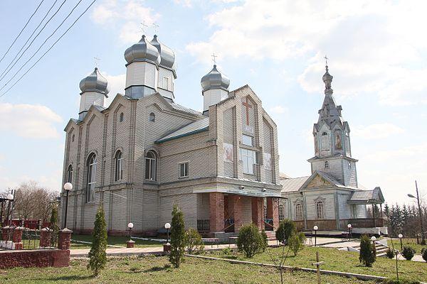 Церкви с. Борщівка