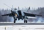 Экипажи истребителей МиГ-31БМ ЦВО отработали перехват крылатой ракеты в небе над Пермью.jpg