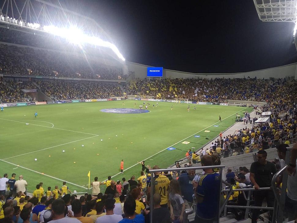 איצטדיון בלומפילד המחודש, ספטמבר 2019