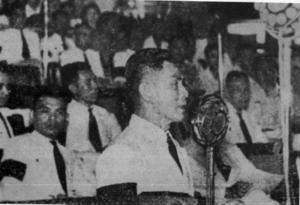 Thawan Thamrongnawasawat - Luang Thawan Thamrongnavasawat on parliamental speech.