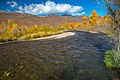 …fall colors on the stream below Jordenelle dam in Utah (8124258061).jpg