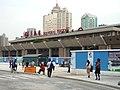 上海火車駅駅3・4号線駅舎.JPG