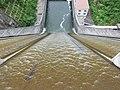 大島ダム排水口 - panoramio.jpg