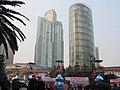 杨家坪步行街景 - panoramio.jpg