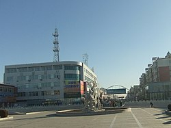 站前广场 - Railway Station Square - 2010.10 - panoramio.jpg