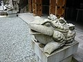 脳天大神祖師堂にて Stone frogs at Nouten-ookami 2010.3.30 - panoramio.jpg