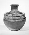 西漢 模印紋青瓷罐-Jar (Labakou Hu) MET 232140.jpg