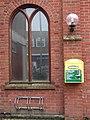-2020-01-25 Defibrillator outside the Parish Hall, Church Street, Cromer.JPG